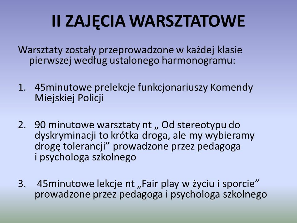 """VI Wystawa Podsumowanie projekt """"Jestem Fair odbyło się podczas """"Dnia Sportu - 1.06.2011r."""