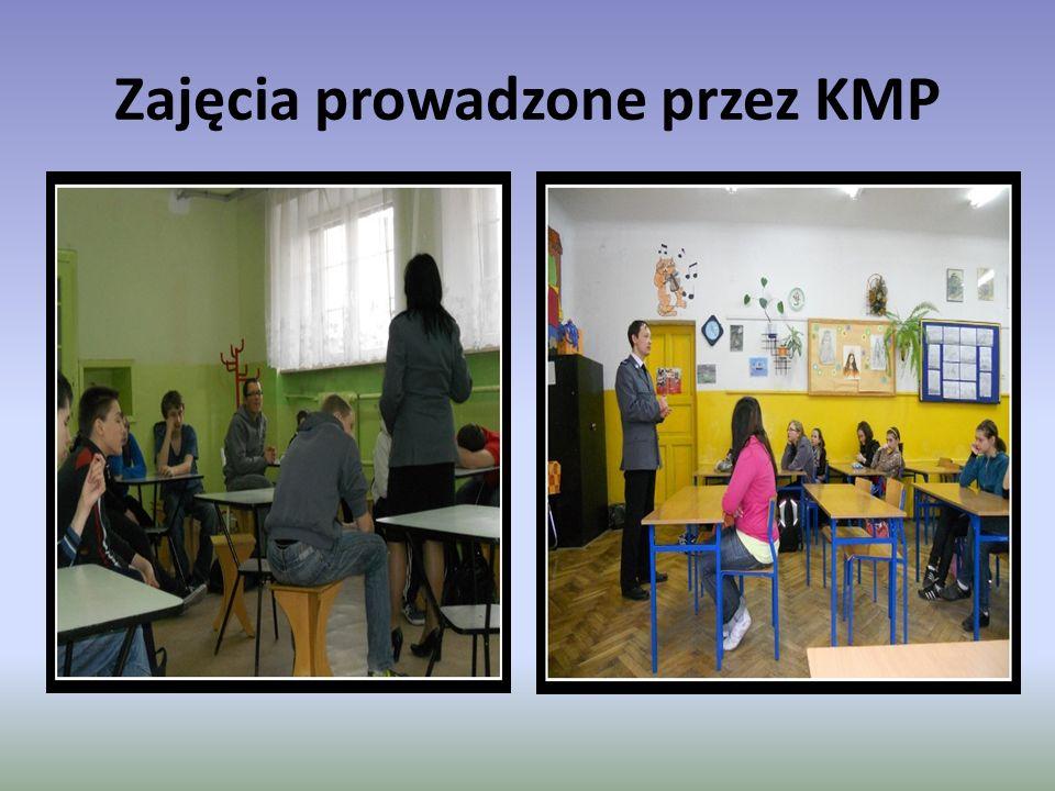 Zajęcia prowadzone przez KMP