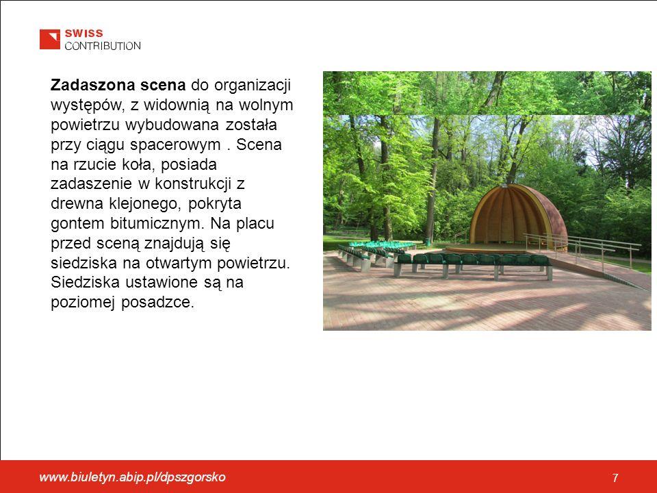 www.biuletyn.abip.pl/dpszgorsko 18 Wśród zrealizowanych dotychczas przedsięwzięć można wymienić: Uroczyste zakończenie Projektu SPPW oraz otwarcie nowopowstałych obiektów.