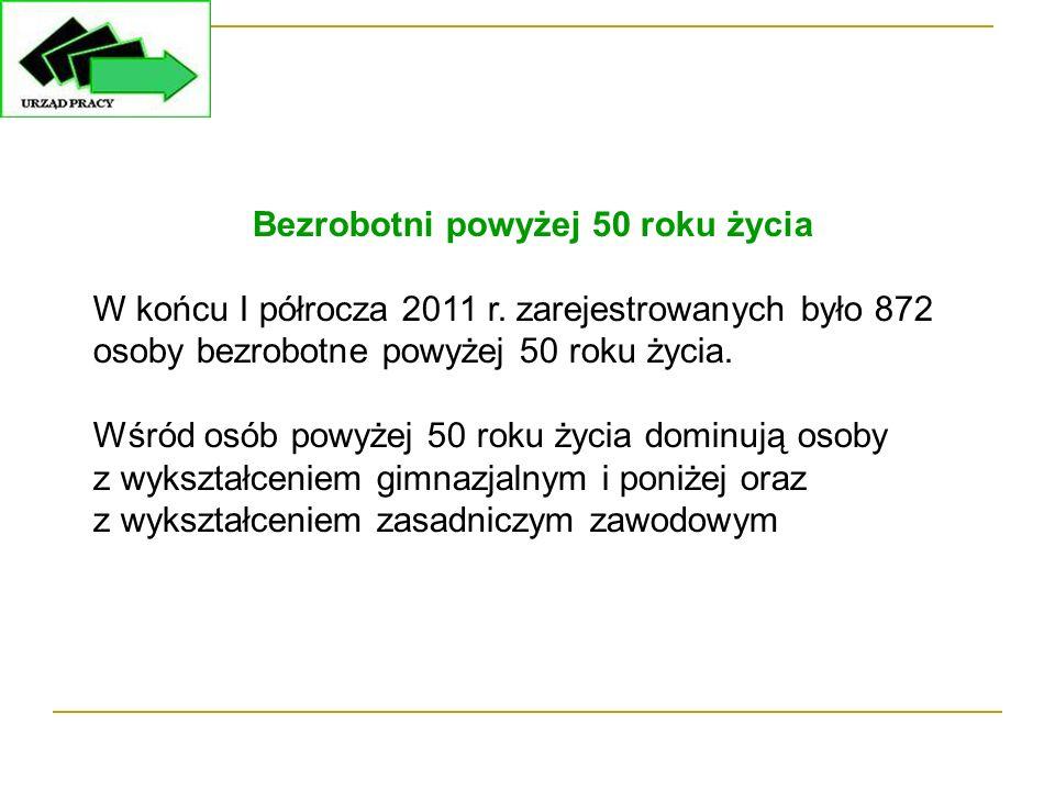 ROBOTY PUBLICZNE W ramach robót publicznych w I półroczu 2011 r.