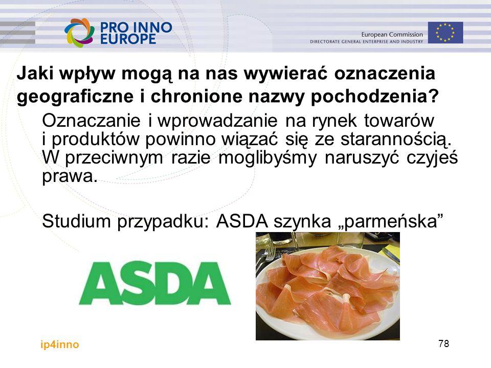 ip4inno 78 Oznaczanie i wprowadzanie na rynek towarów i produktów powinno wiązać się ze starannością. W przeciwnym razie moglibyśmy naruszyć czyjeś pr