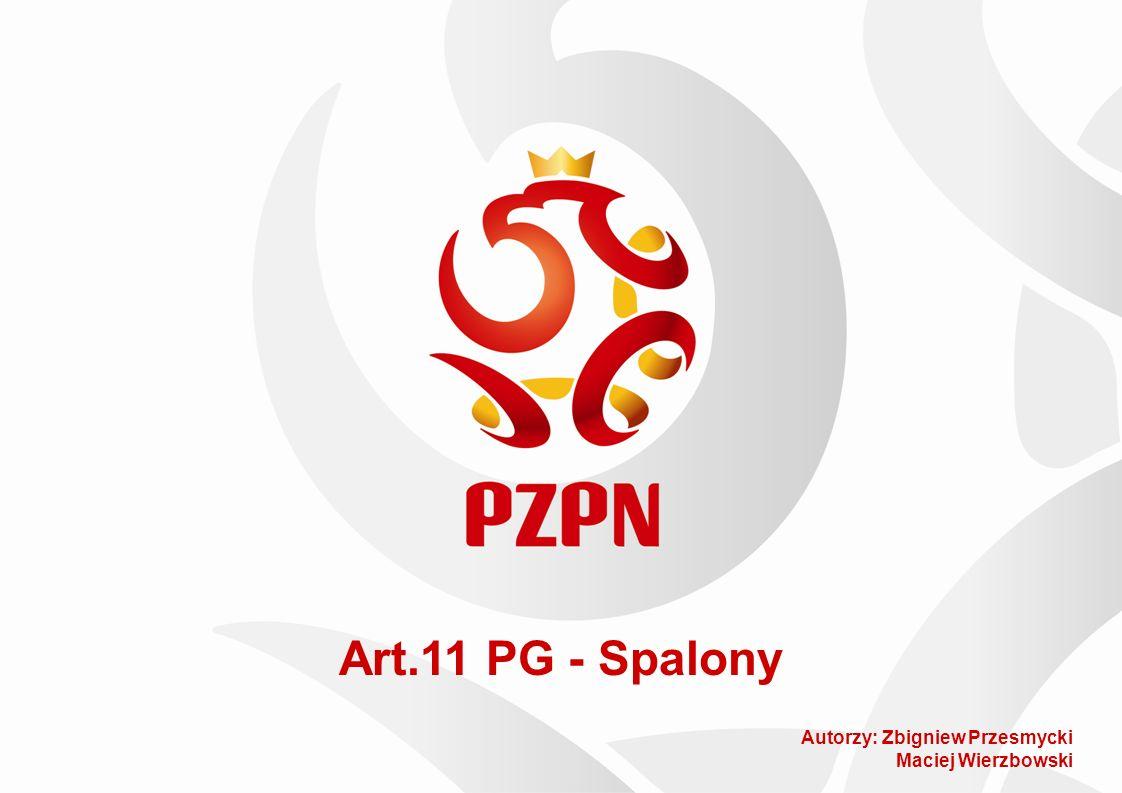 Art.11 PG - Spalony Autorzy: Zbigniew Przesmycki Maciej Wierzbowski