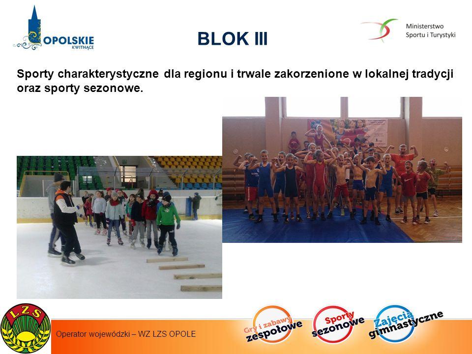 Sporty charakterystyczne dla regionu i trwale zakorzenione w lokalnej tradycji oraz sporty sezonowe.