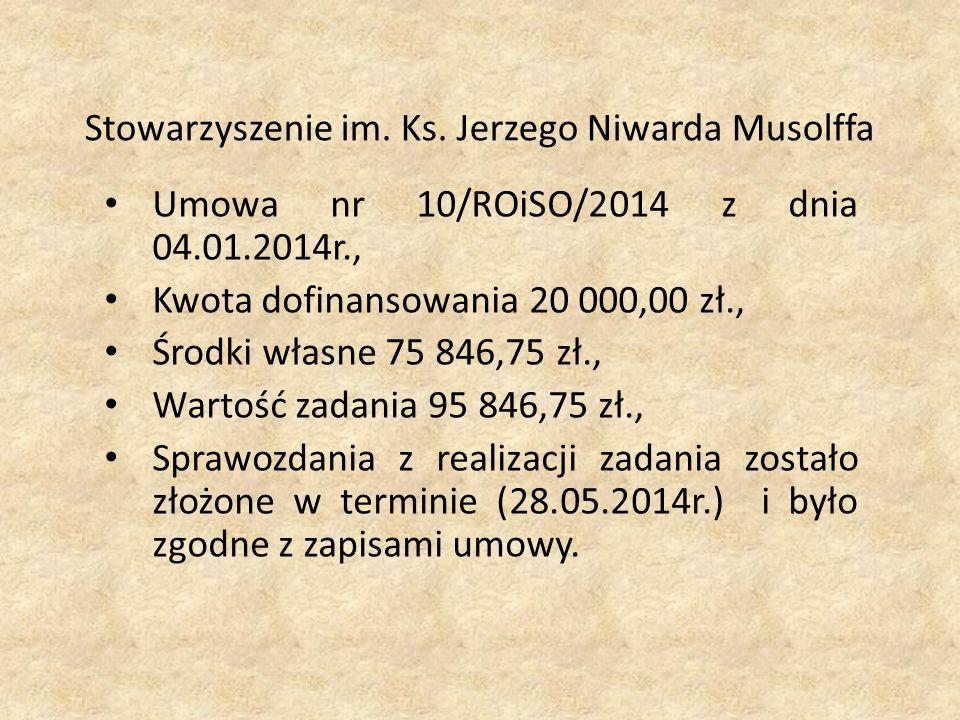 Stowarzyszenie im. Ks.