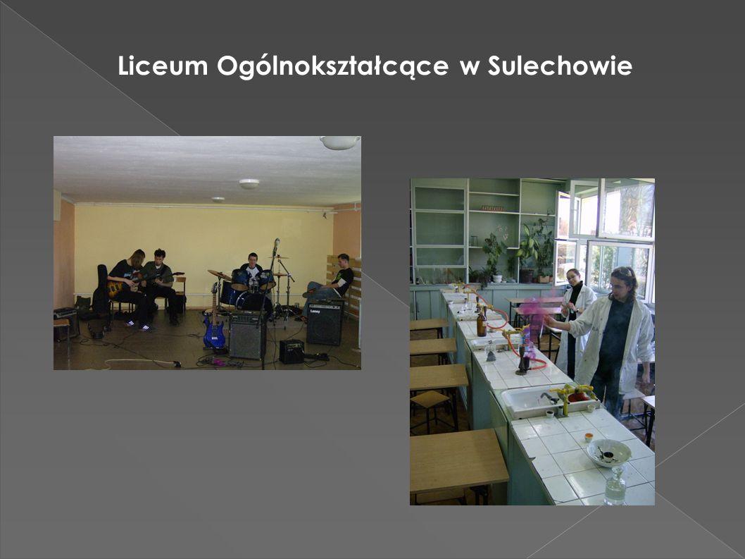 Zespół Szkół Ponadgimnazjalnych w Sulechowie