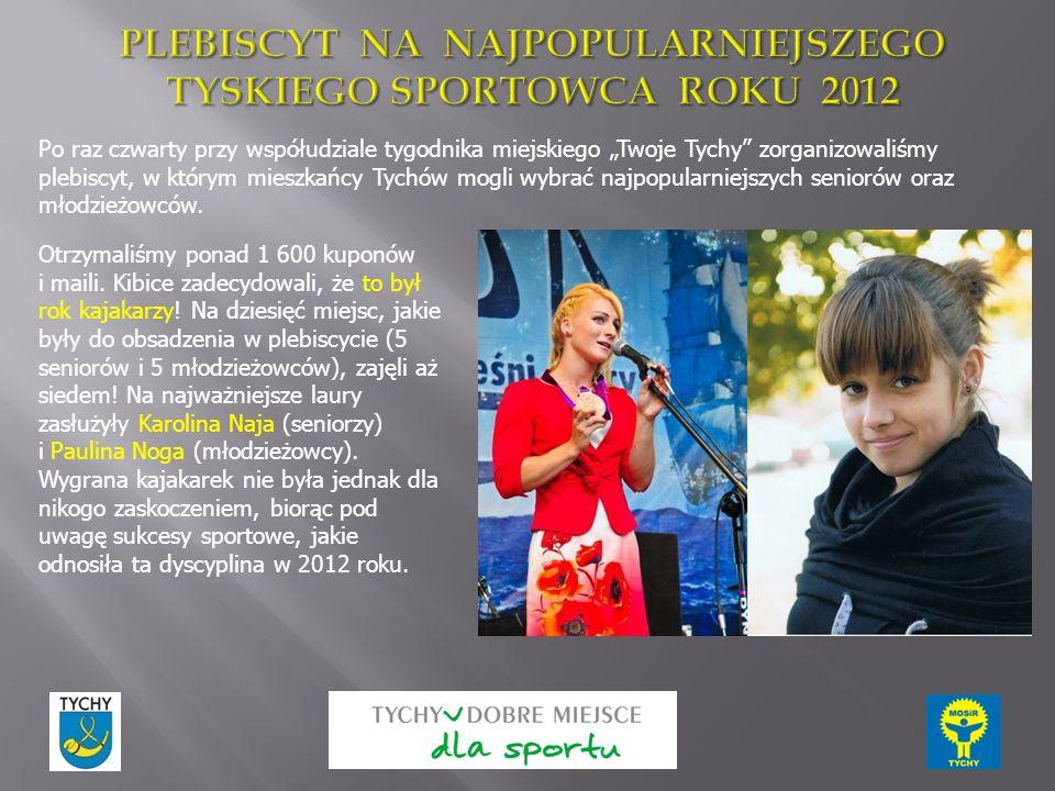 """Po raz czwarty przy współudziale tygodnika miejskiego """"Twoje Tychy zorganizowaliśmy plebiscyt, w którym mieszkańcy Tychów mogli wybrać najpopularniejszych seniorów oraz młodzieżowców."""