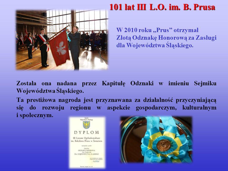 Została ona nadana przez Kapitułę Odznaki w imieniu Sejmiku Województwa Śląskiego.