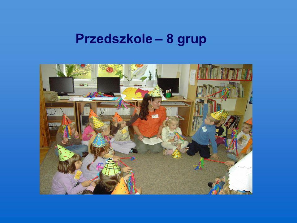 Przedszkole – 8 grup