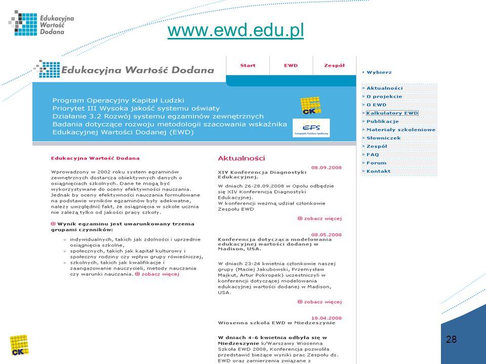 28 www.ewd.edu.pl