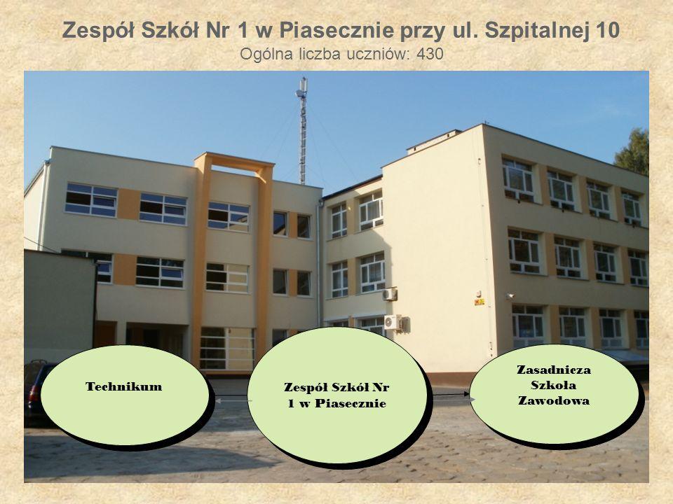 Zespół Szkół Nr 1 w Piasecznie przy ul.
