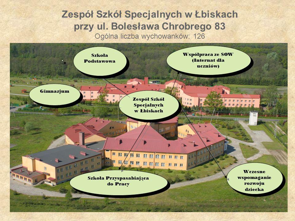 Zespół Szkół Specjalnych w Łbiskach przy ul.