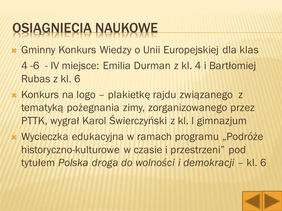 Gminny Konkurs Recytatorski im.