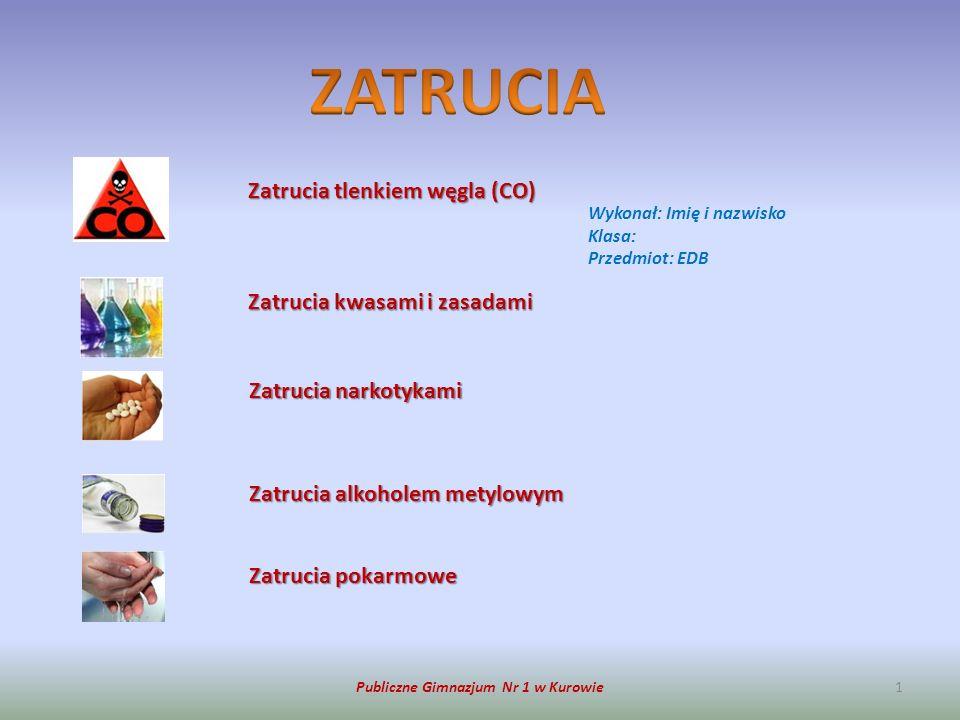 Publiczne Gimnazjum Nr 1 w Kurowie2 OBJAWY