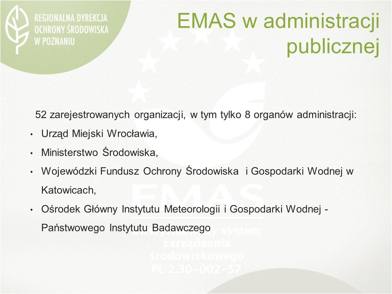 52 zarejestrowanych organizacji, w tym tylko 8 organów administracji: Urząd Miejski Wrocławia, Ministerstwo Środowiska, Wojewódzki Fundusz Ochrony Środowiska i Gospodarki Wodnej w Katowicach, Ośrodek Główny Instytutu Meteorologii i Gospodarki Wodnej - Państwowego Instytutu Badawczego