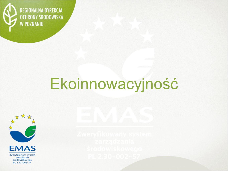 Korzyści EMAS w RDOŚ KORZYŚCI WEWNĘTRZNE Monitorowanie systemu poprzez badanie spójności funkcjonowania kontroli zarządczej, planu działalności i budżetu zadaniowego