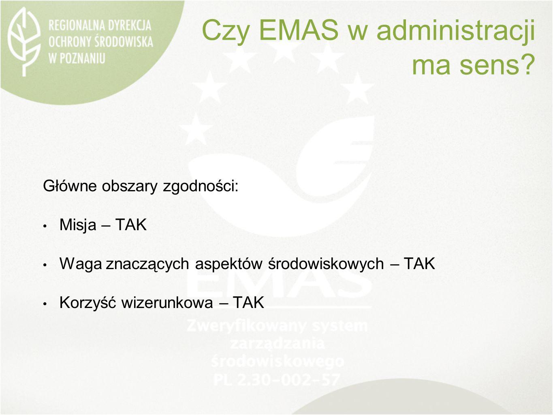 Czy EMAS w administracji ma sens.