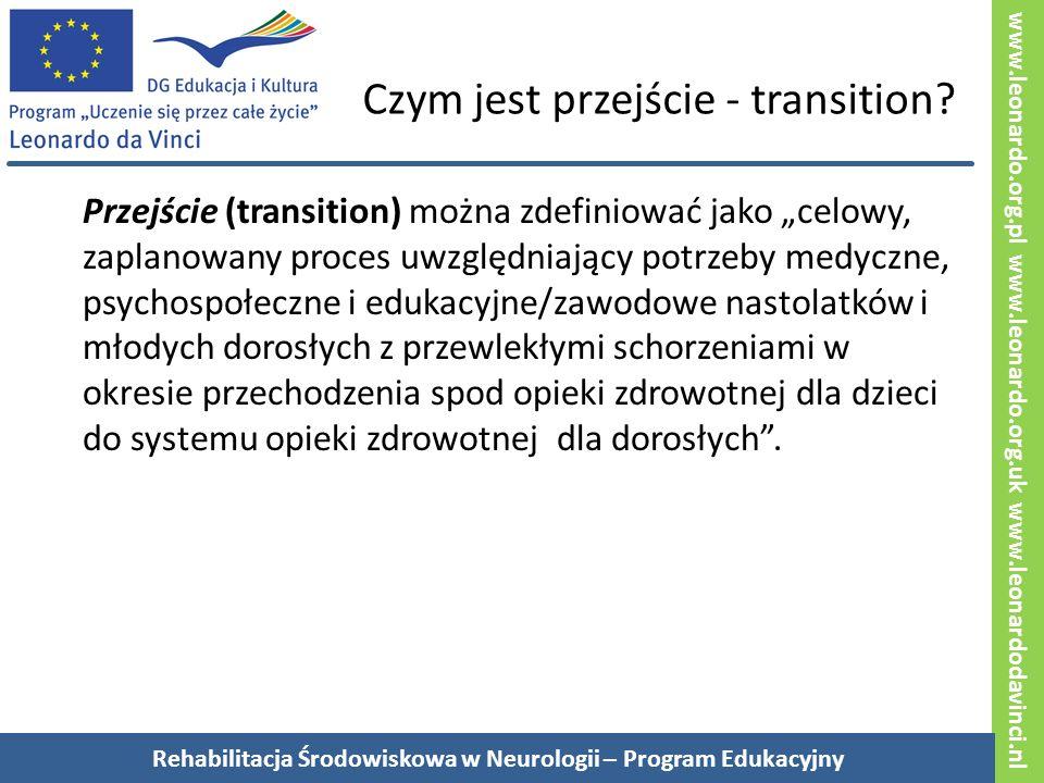 www.leonardo.org.pl www.leonardo.org.uk www.leonardodavinci.nl Czym jest przejście - transition.