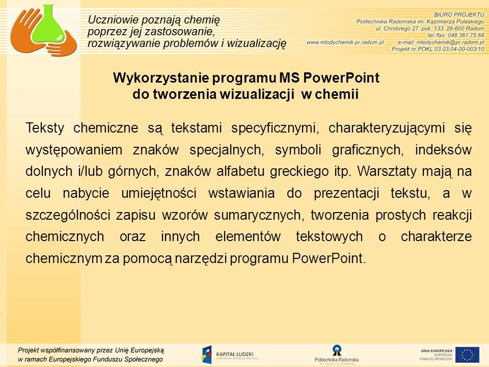 Korzystanie ze stron internetowych jako przewodników online lub offline Platformy edukacyjne oraz wortale internetowe o tematyce chemicznej to wspaniałe źródło informacji i wiedzy przekazywanej przez pasjonatów chemii.