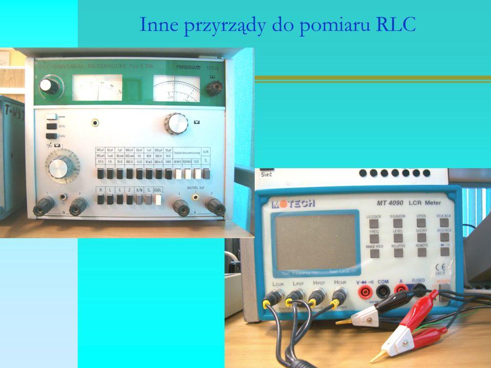 Inne przyrządy do pomiaru RLC