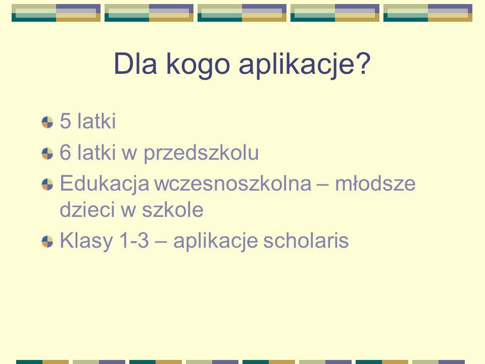 Strony interentowe czuczu.pl/gry-dla-dzieci www.lubisie.pl www.ciufcia.pl www.dladzieci.pl www.wspinet.pl www.czasdzieci.pl