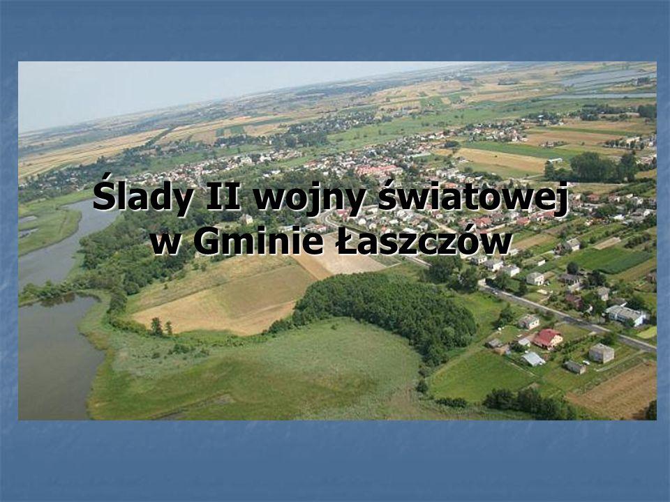 Ślady II wojny światowej w Gminie Łaszczów