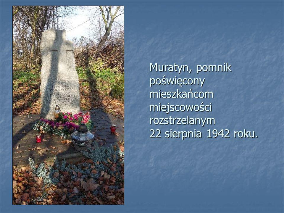 Cmentarz żydowski w Łaszczowie. Jesienią 1942 r. w pobliskim lesie gestapo zastrzeliło 28 Żydów. Pozostali Żydzi zostali przewiezieni do obozu w Bełżc