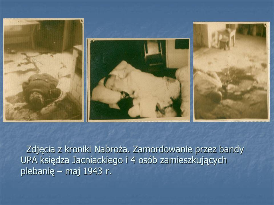 Represje niemieckie na terenach gminy dosięgły też ludności cywilnej. Na fotografii grób rodzeństwa Dublowskich z Małoniża. Franciszka (14 lat) zmarła