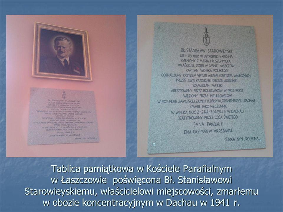 Szkoła Podstawowa w Łaszczowie.