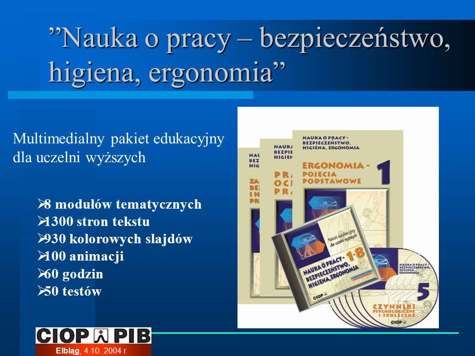 Elbląg, 4.10. 2004 r.