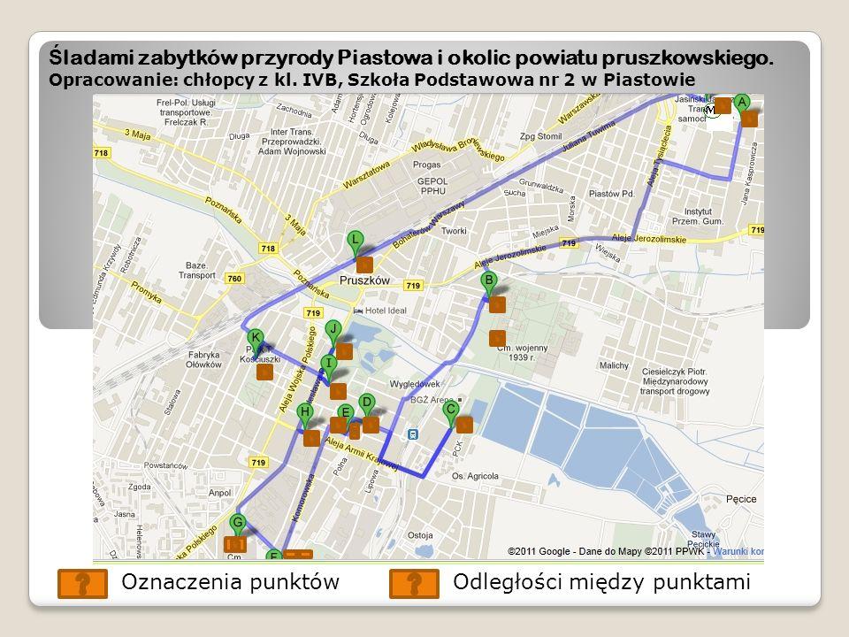 Ś ladami zabytków przyrody Piastowa i okolic powiatu pruszkowskiego.