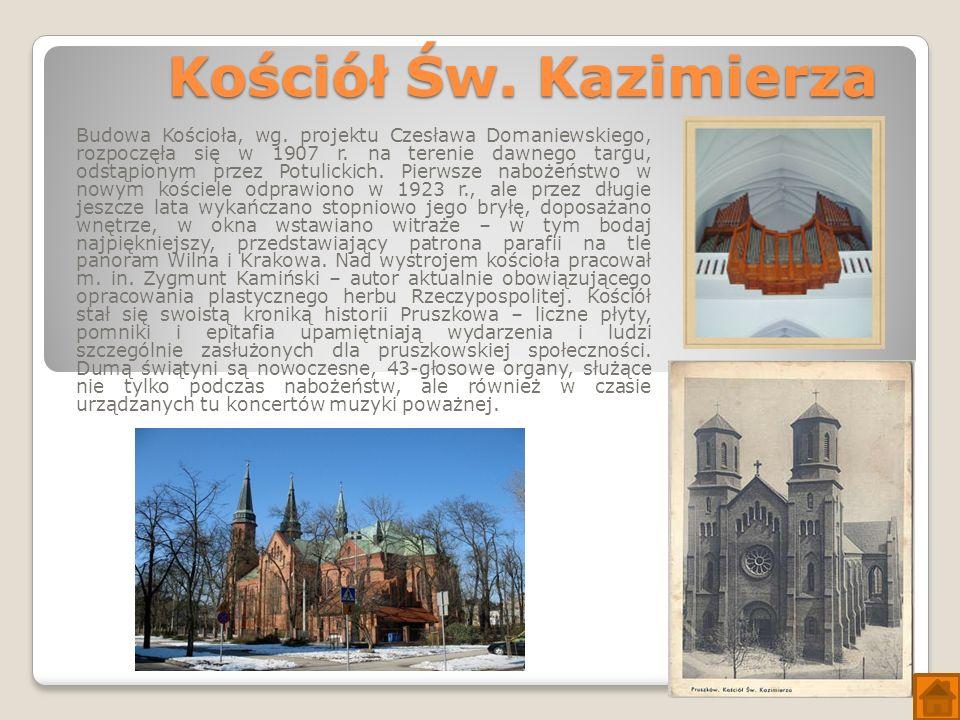 Kościół Św. Kazimierza Budowa Kościoła, wg.