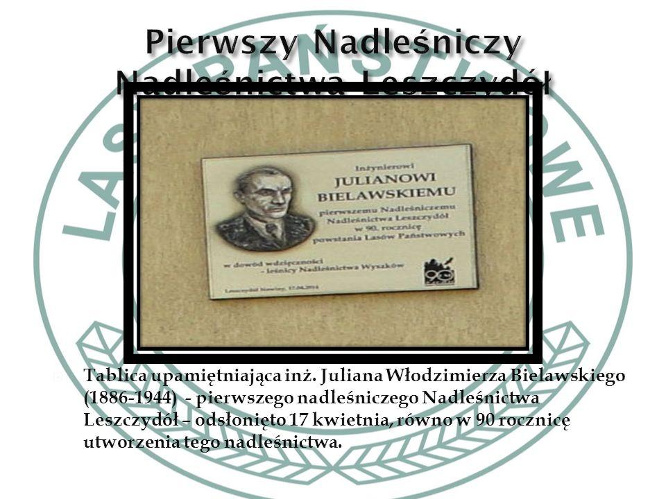 Galeria portretów wszystkich nadleśniczych od 1924 do 2012r