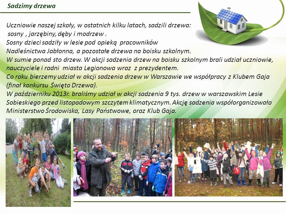 Od kilkunastu lat, wiosną i jesienią odbywa się sprzątanie lasu.