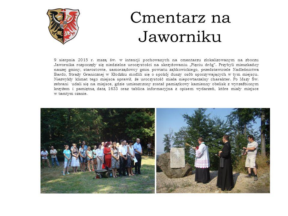 Cmentarz na Jaworniku 9 sierpnia 2015 r.mszą św.