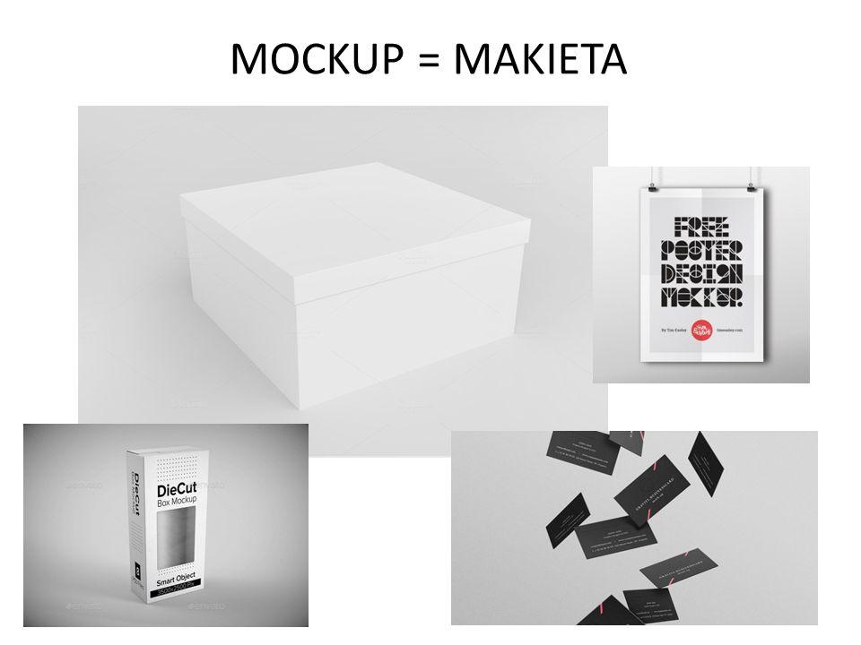 MOCKUP = MAKIETA