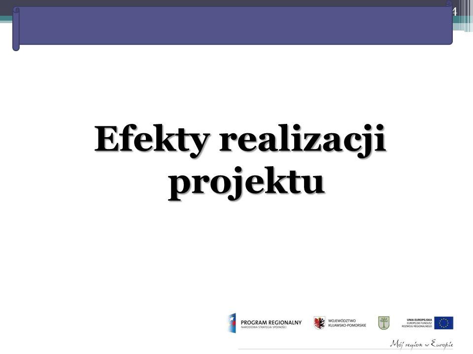 Rewitalizacja starej części miasta w Kruszwicy – etap I Efekty realizacji projektu 24