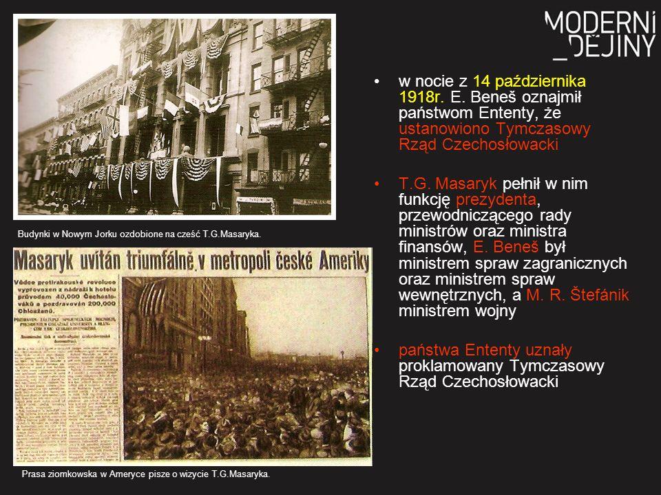 w nocie z 14 października 1918r. E.