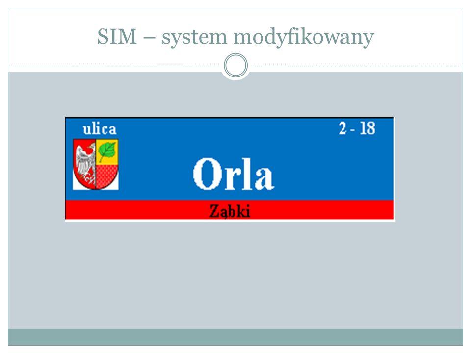 SIM – system modyfikowany