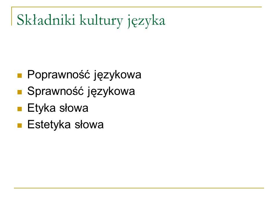 semantyka Pisownia tytułów - w tytułach czasopism wszystkie wyrazy samodzielne np.