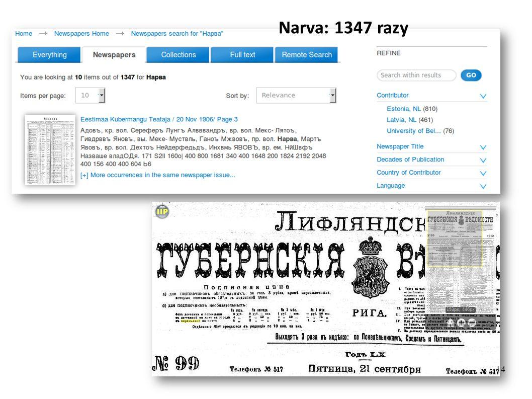 Narva: 1347 razy 14