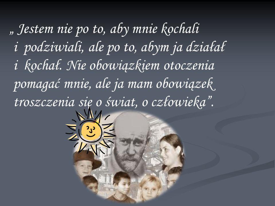 Janusz Korczak walczył o dobro, sprawiedliwość i ochronę praw dziecka.