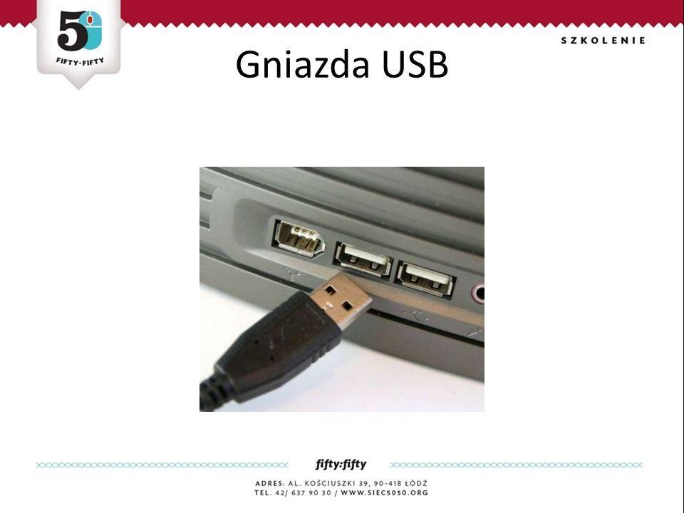 Gniazda USB