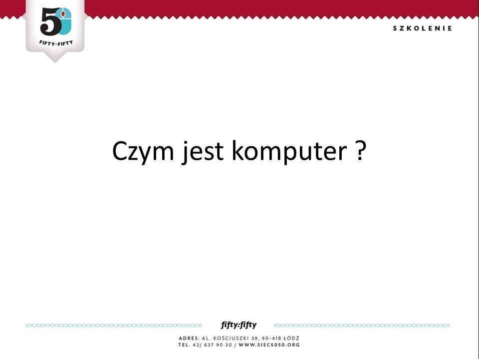 Czym jest komputer ?