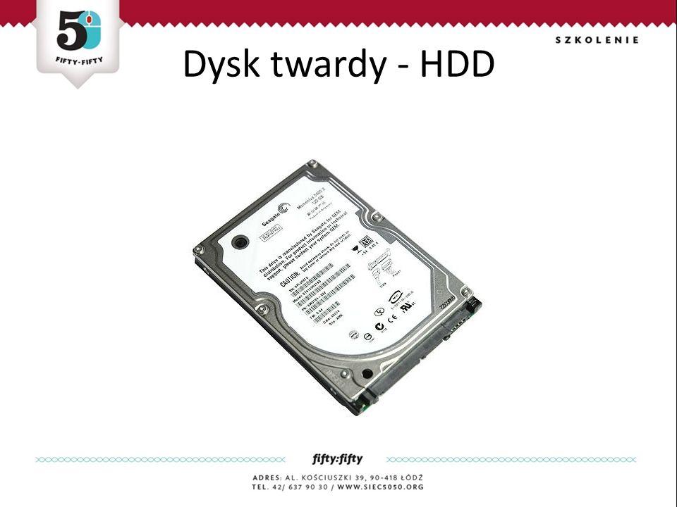 Dysk twardy - HDD