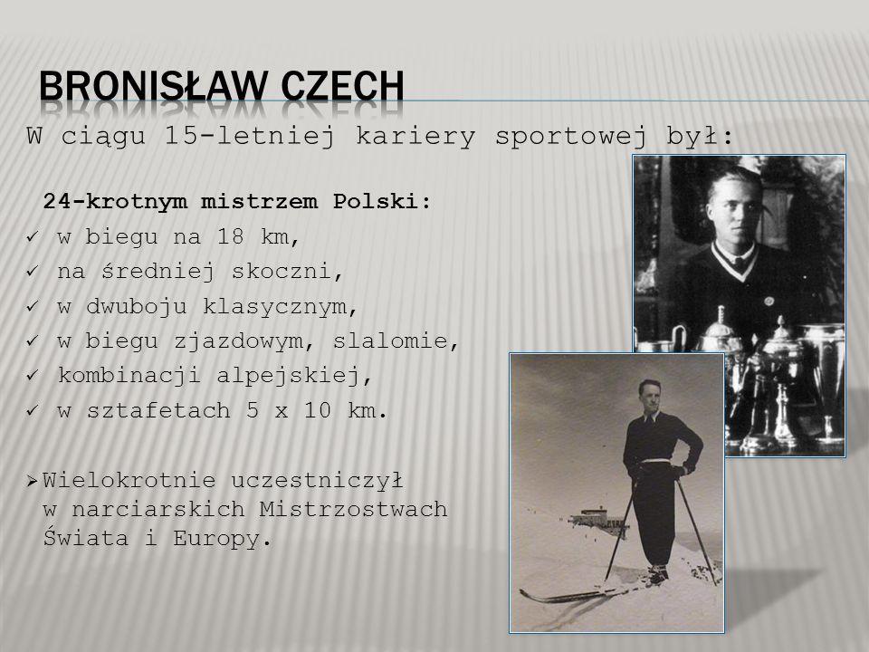 W ciągu 15-letniej kariery sportowej był: 24-krotnym mistrzem Polski: w biegu na 18 km, na średniej skoczni, w dwuboju klasycznym, w biegu zjazdowym,