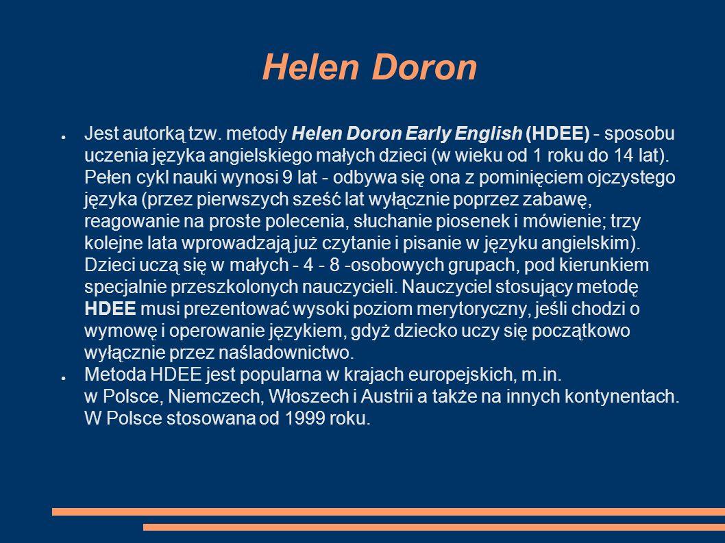 Helen Doron ● Jest autorką tzw.