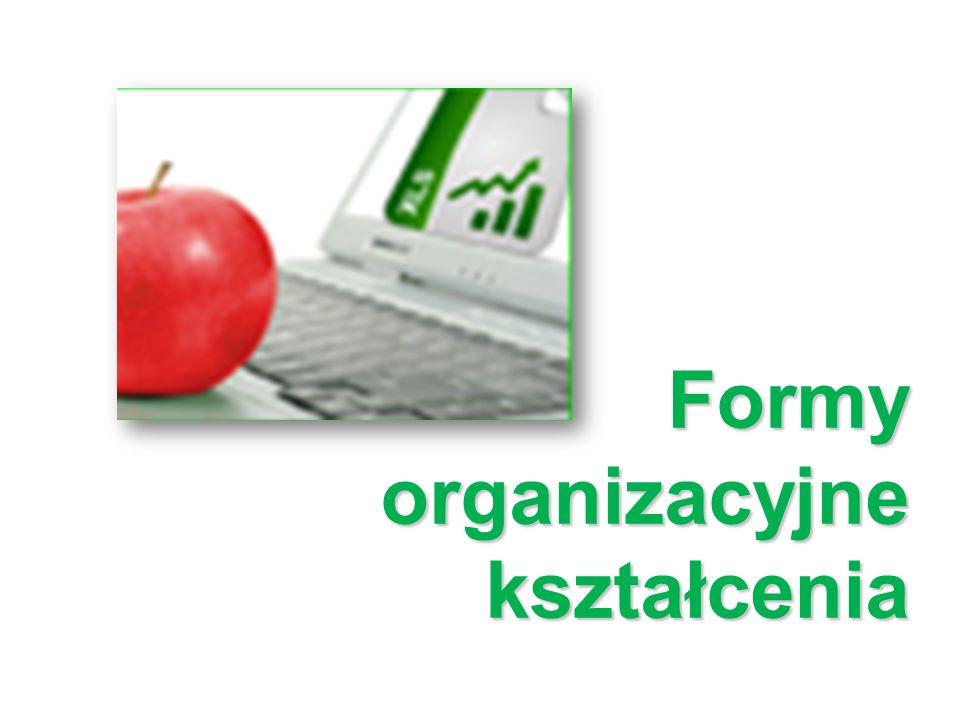 Formy organizacyjne kształcenia