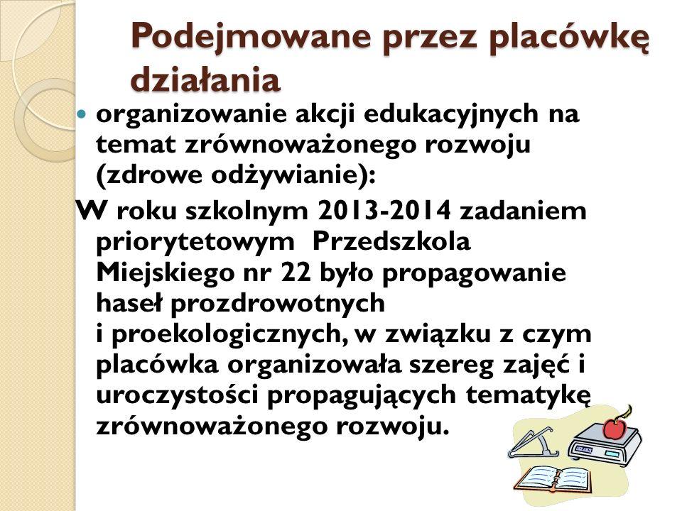 - Nie palę, nie truję- tylko segreguje prowadzenie pogadanek i wykorzystywanie polecanych filmików http://www.kzg.pl/index.php/filmiki do edukacji proekologicznej