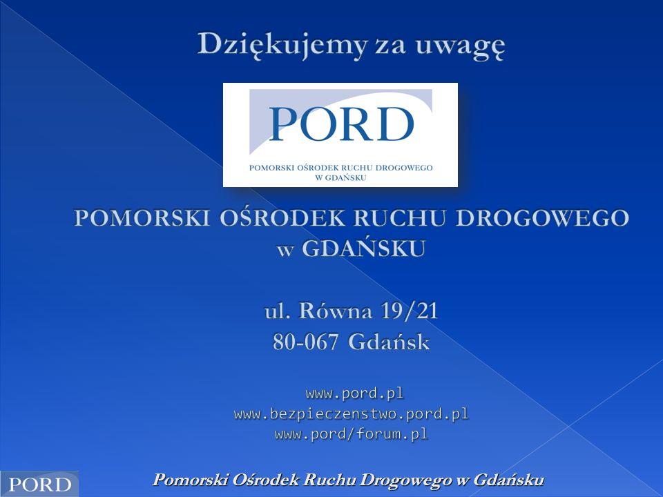 Pomorski Ośrodek Ruchu Drogowego w Gdańsku