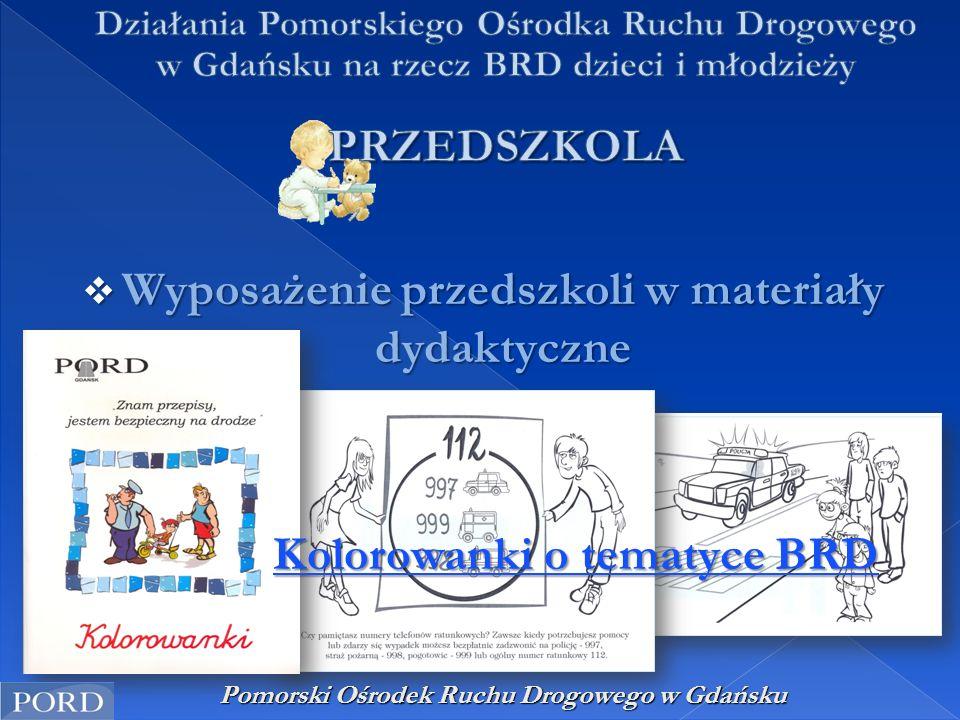  Wyposażenie przedszkoli w materiały dydaktyczne Kolorowanki o tematyce BRD